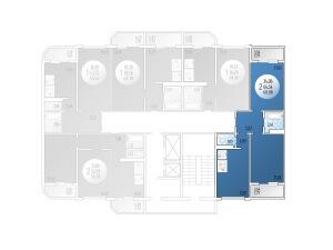 2-комнатная Цена 2.668.736 р.