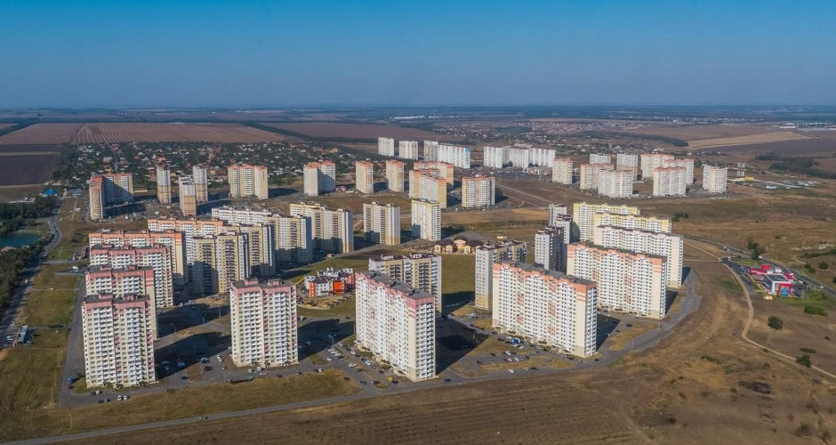 Общий вид на ЖК Суворовский