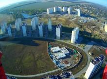 фото с коптера над ЖК Суворовский