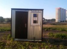 Одна из будок для парковки в Суворовском