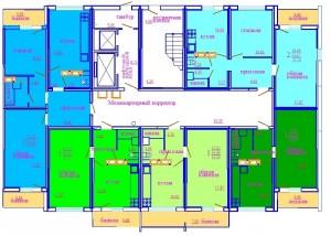 1 этаж секция А