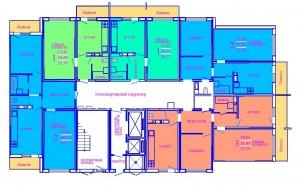 1 этаж секция Б