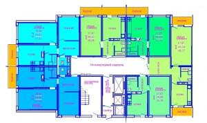 1 этаж секция В