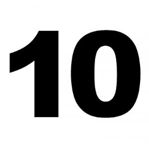 Машин на маршруте №43 по списку 10 штук