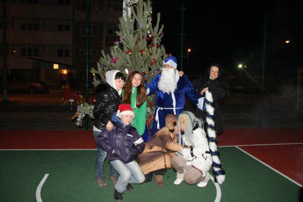 Празднуем Новый 2015 год в Суворовском
