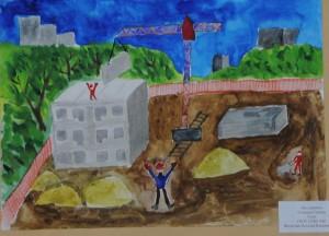 Детский сад около 140-го военного городка снова строят