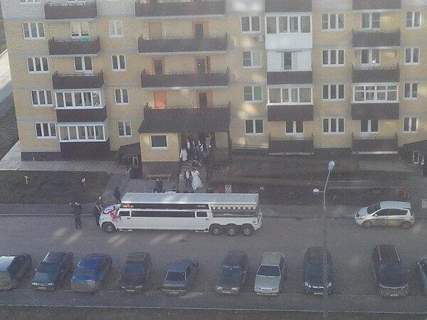 Свадьба в 140-ом военном городке ЖК Суворовский