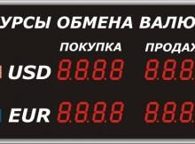 Курсы валют на сайте ЖК Суворовский