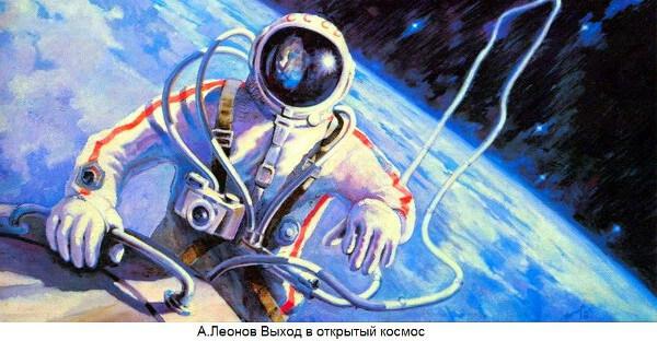 Первый выход человека в космос