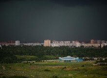 Летний шторм в ЖК Суворовском 19 июня