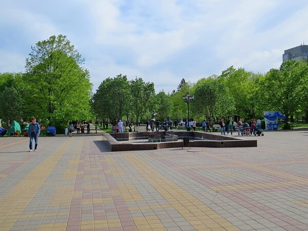 Парк Плевен на ЗЖМ Ростов-на-Дону
