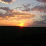 Каждый вечер новый закат в Суворовском