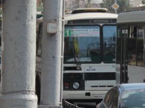 Автобус на маршруте №1