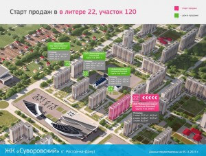 Схема 120 участка Суворовского
