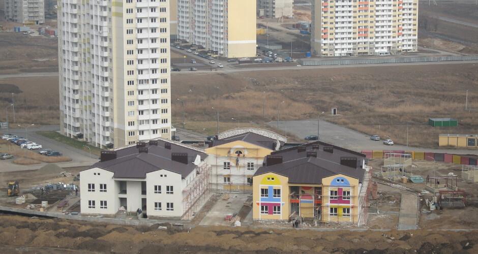 Первый детский сад в ЖК Суворовском