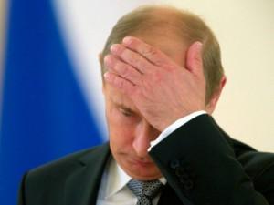 Грустный Владимир Путин