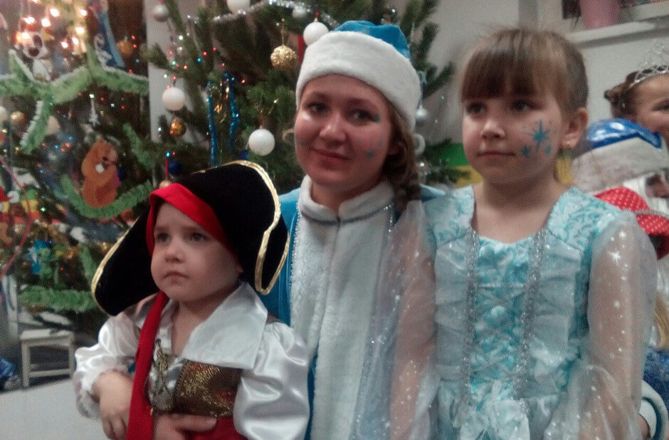Дед Мороз в ЖК Суворовском