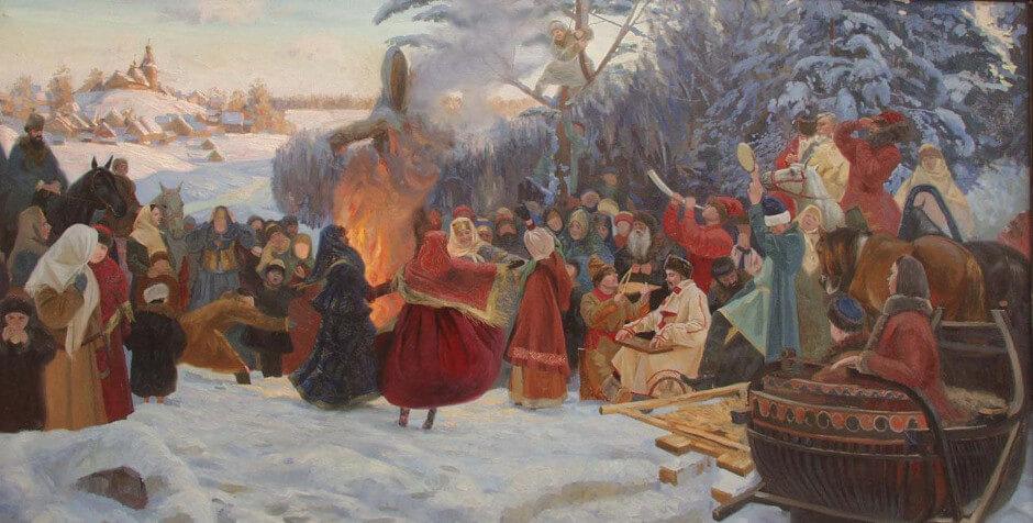 Проводы Масленицы 2016 года в ЖК Суворовском