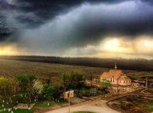 """Внешний вид нового храма около ЖК """"Суворовского"""""""