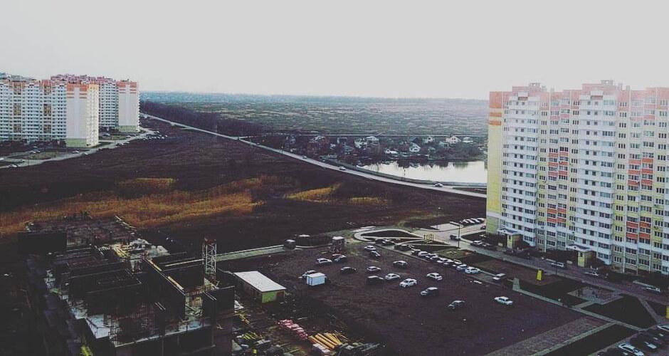 улица Платона Кляты в ЖК Суворовском