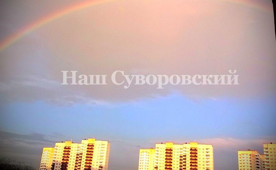 Май 2016 года в ЖК Суворовском