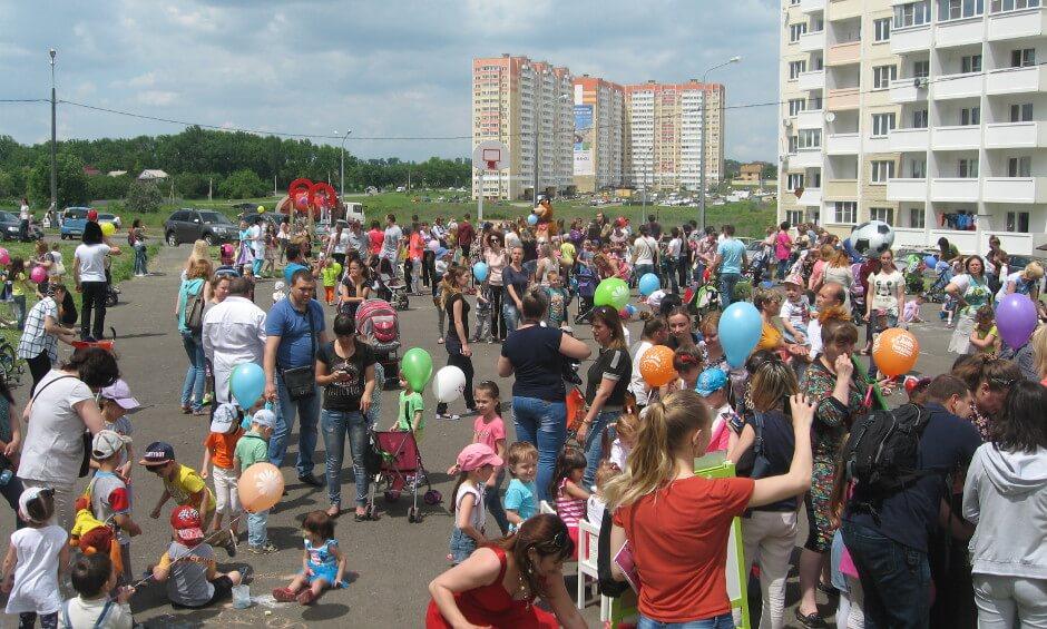 Праздник Дня защиты детей 2016 года в ЖК Суворовском