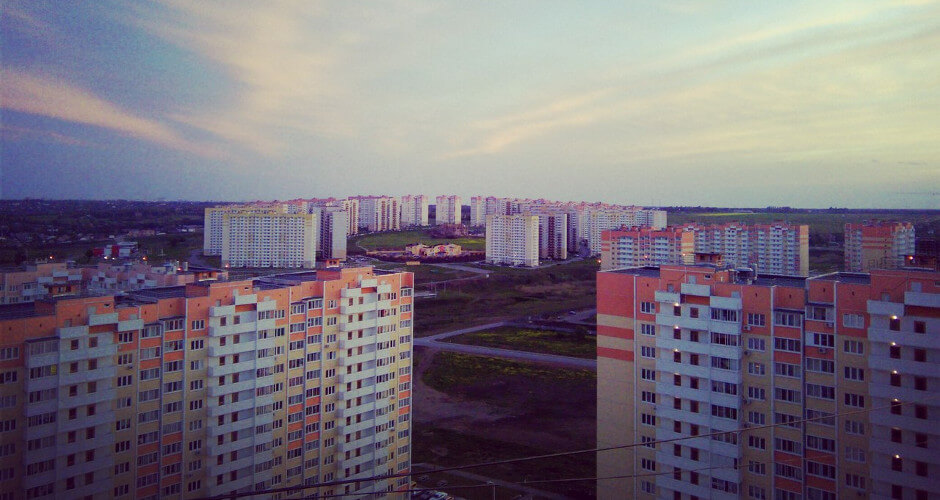 ЖК Суворовский на закате