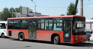 Автобус №18 в ЖК Суворовский