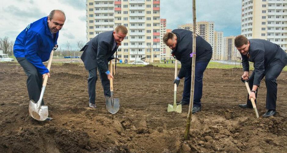 Горбань строит будущее Суворовского