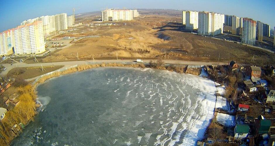 Озеро около ЖК Суворовского