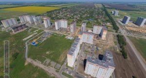 Панорама ЖК Суворовского с неба