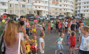 Спортивный праздник в ЖК Суворовском