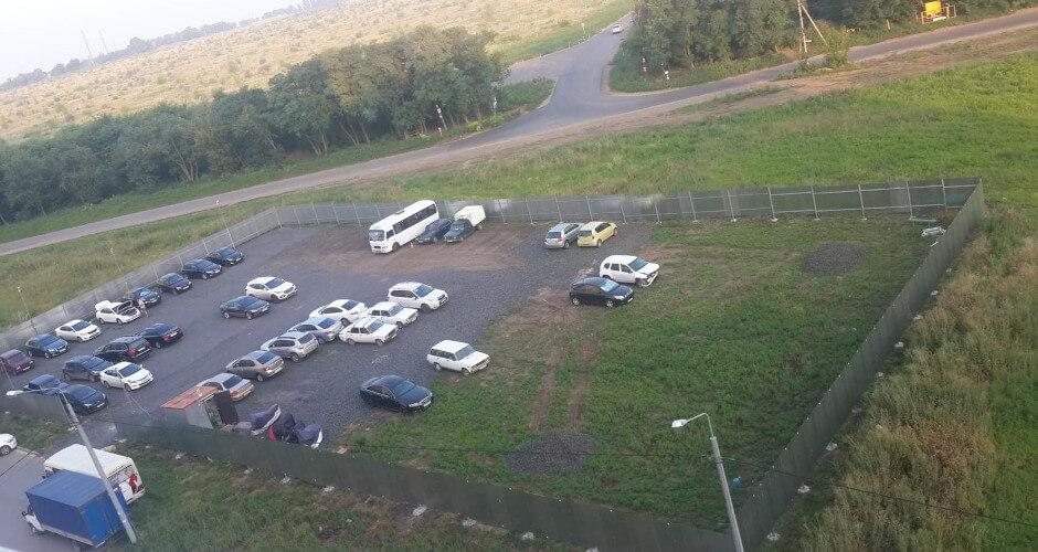 Парковка в ЖК Суворовском