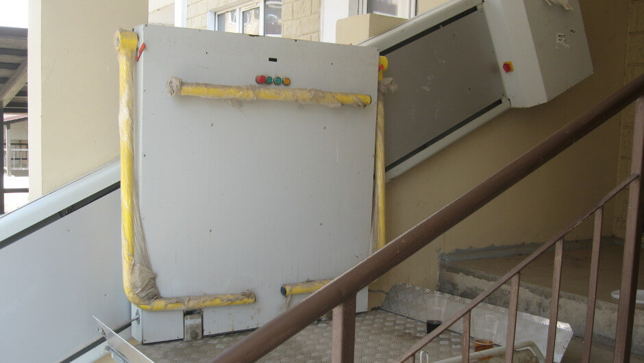 Подъемник для инвалидов в ЖК Суворовском