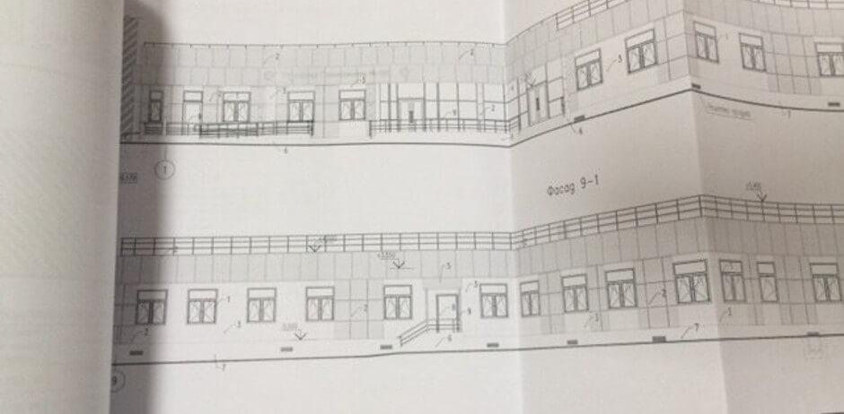 План поликлиники в ЖК Суворовском