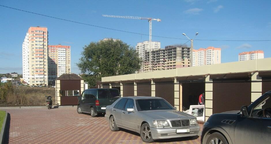 Павильоны на рынке Атаман в ЖК Суворовском