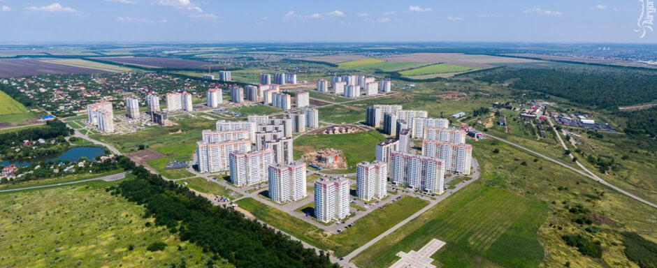 Вид на ЖК Суворовский