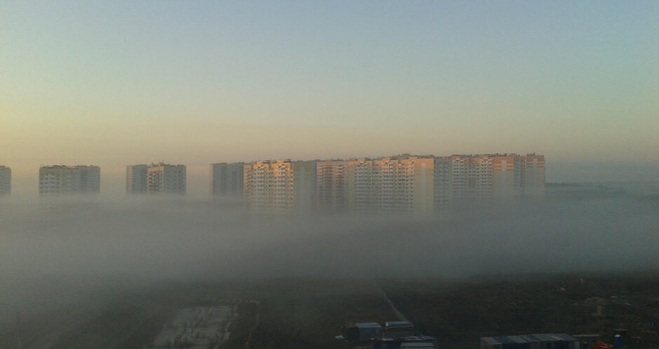 Туман в ЖК Суворовский