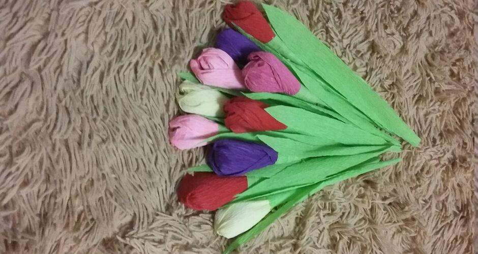 Цветы с чупа-чупсом в ЖК Суворовском