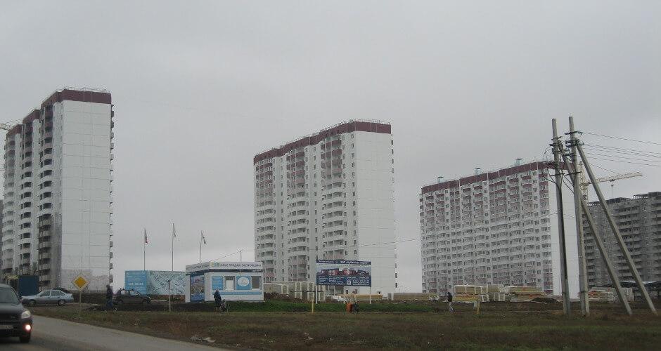 Белые дома ЖК Суворовского