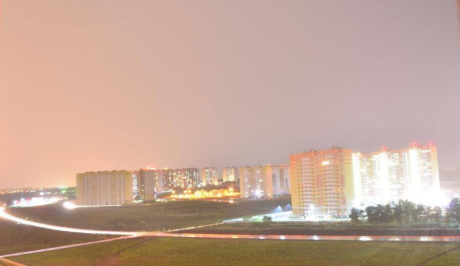 Вид на улицу Вавилова в ЖК Суворовском