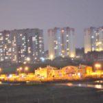 Вид на детский сад в ЖК Суворовском