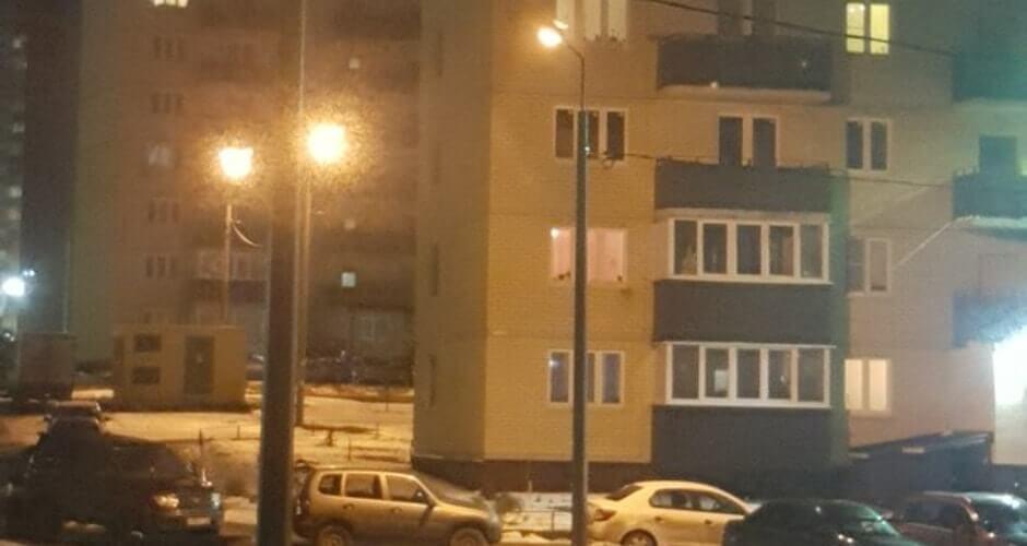 Освещение в 140-ом военном городке 2017