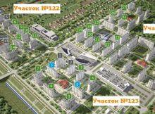 План-схема застройки Суворовского