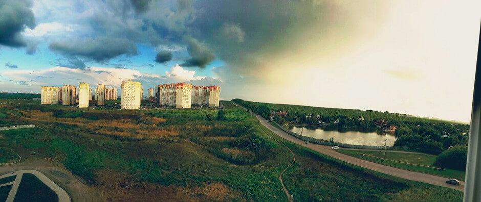 Летняя панорама Суворовского