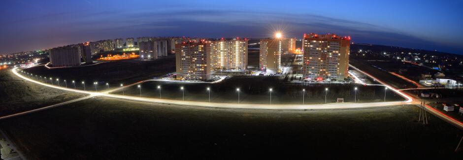 Панорама ул. Вавилова в ЖК Суворовском
