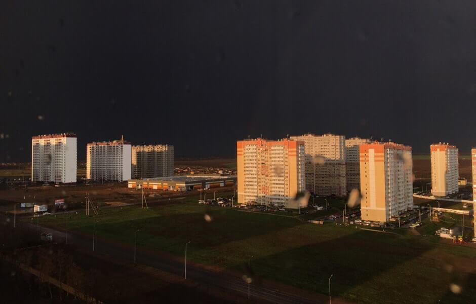 Разгар грозы в ЖК Суворовском