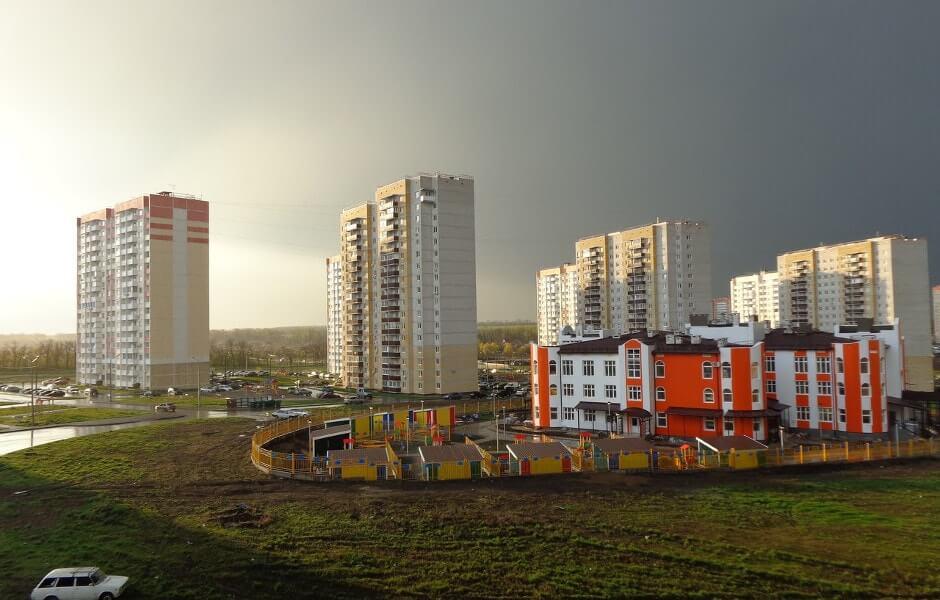 Вид на 140-ой военный городок
