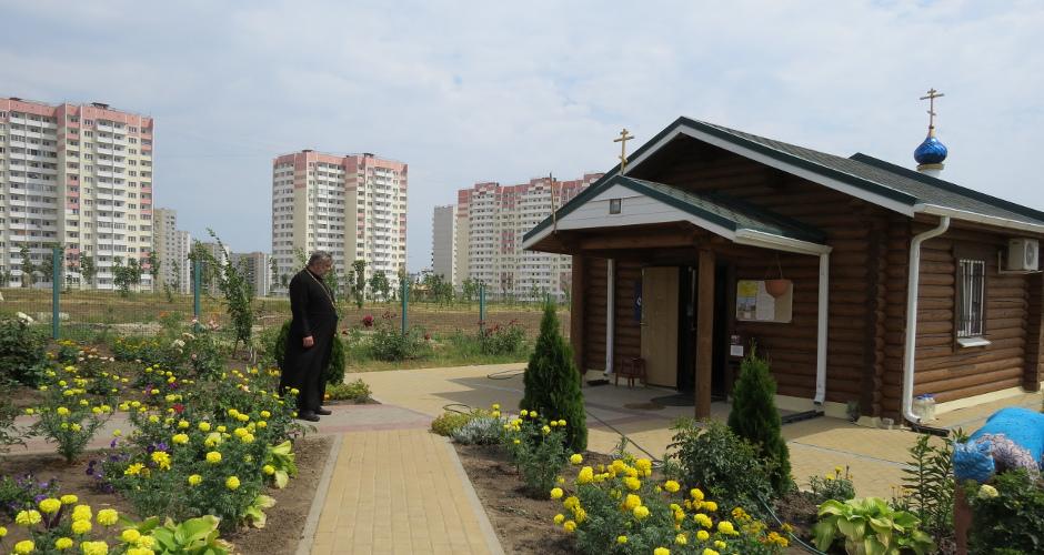Храм Бориса и Глеба в ЖК Суворовском 2018 год