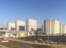 Новая парковка ЖК Суворовского. Вид 1